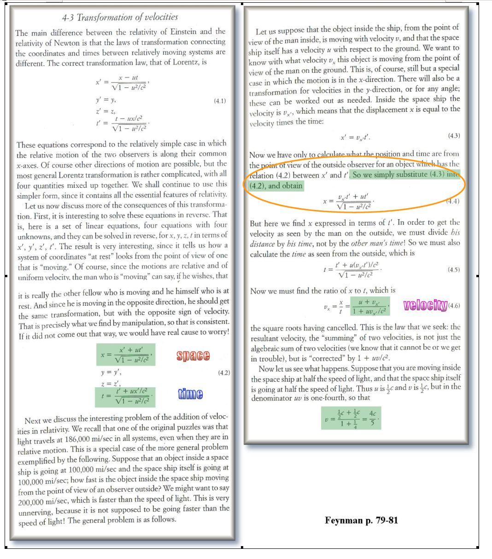 Gravity, Time and Leibniz Feynman-relativity