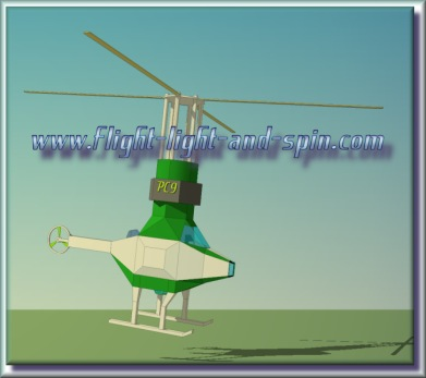 Sketchup helicopter and entothopter