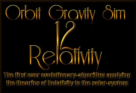 gravity simulation relativity